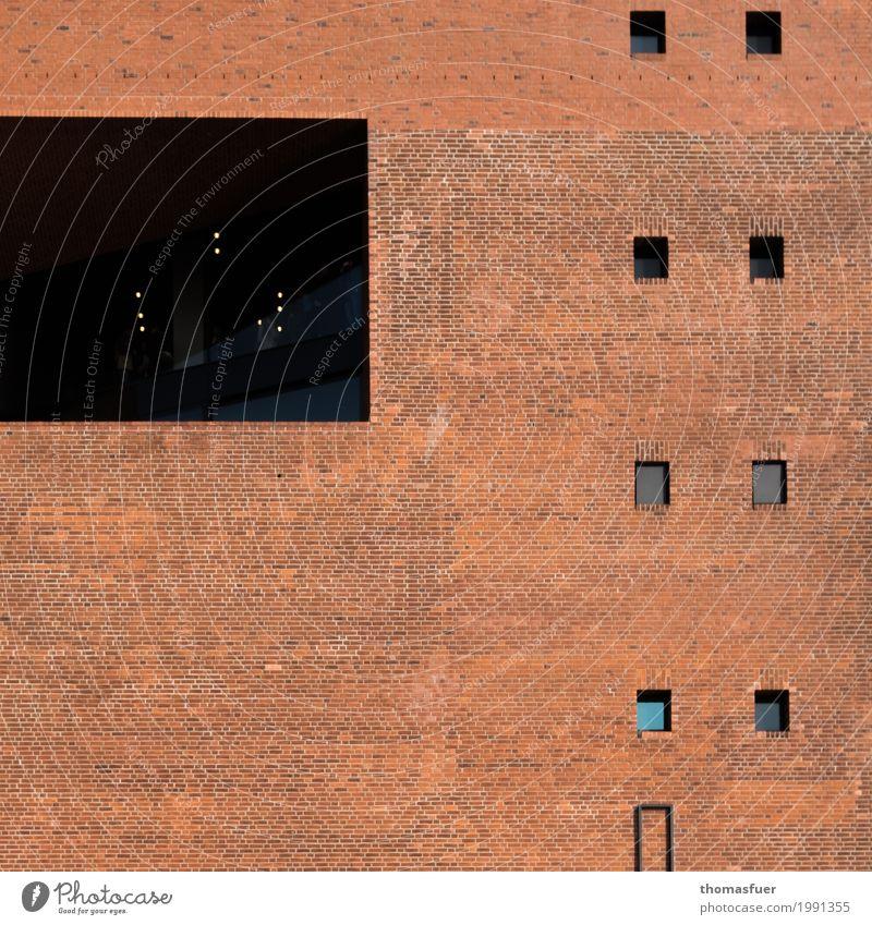 Formübung 3 Stadt Fenster Architektur Wand Mauer Kunst Stein Tourismus Fassade Hochhaus Kultur Hamburg Bauwerk Sehenswürdigkeit Wahrzeichen Stadtzentrum