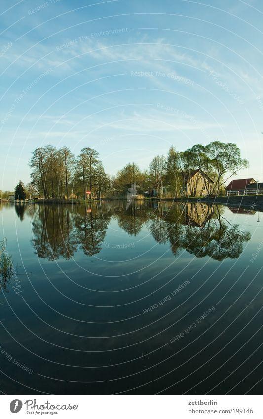 Schon wieder die Havel bei Pinnow Natur April Brandenburg Erholung Fluss Frühling Havelland Abwasserkanal Kanal Erholungsgebiet See Reflexion & Spiegelung