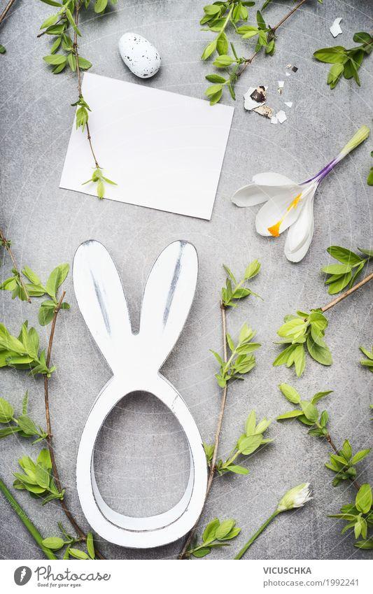 Ostern Grußkarte Kind Natur Pflanze Blume Blatt Freude Blüte Frühling Innenarchitektur Stil Feste & Feiern Design rosa Häusliches Leben Dekoration & Verzierung