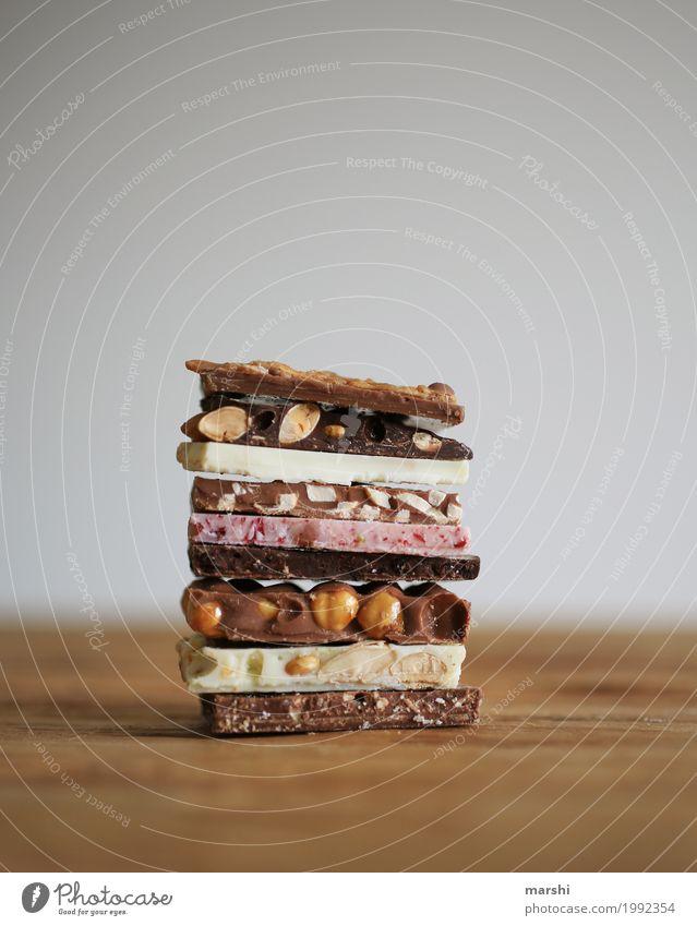 Schoki Foodfotografie Essen Gefühle Lebensmittel Ernährung süß lecker Süßwaren Appetit & Hunger Schokolade Geschmackssinn Diät verführerisch Nuss Kalorie
