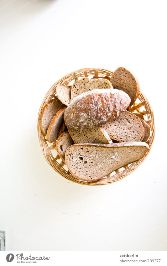 Schimmliges Brot ist selten von Vorteil. Müll Biomüll Brotkorb Ernährung Gift Appetit & Hunger Scheibe Schimmelpilze verdorben Lebensmittel Küche Backwaren