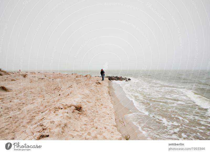 Südperd Ferien & Urlaub & Reisen Ferne Herbst Insel Küste Landschaft Mecklenburg-Vorpommern Menschenleer mönchgut Natur Ostsee Rügen Textfreiraum Nebensaison