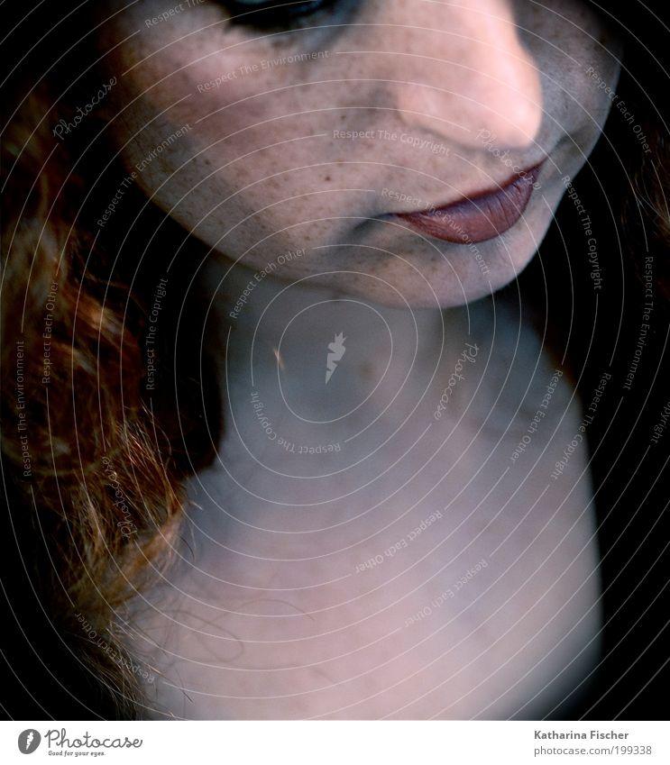 Das fünfzigste Foto :-) Frau Mensch schön rot schwarz Gesicht Erwachsene feminin Kopf Haare & Frisuren braun Mund Haut Nase außergewöhnlich Lippen