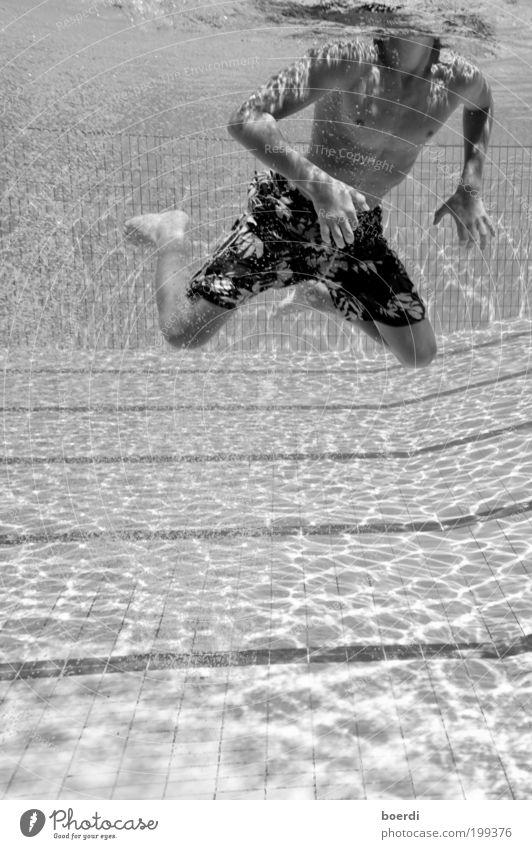 sUchender Mensch Jugendliche Sommer Ferien & Urlaub & Reisen Sport Bewegung nass Tourismus Fitness Schwimmen & Baden sportlich Schweben Unterwasseraufnahme
