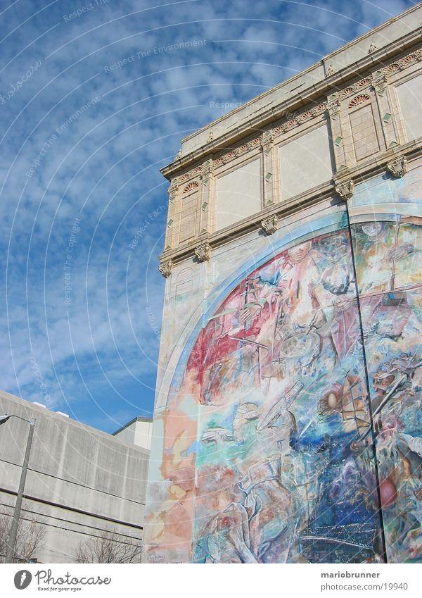 art_wall Himmel Wand Mauer Kunst Architektur USA Dekoration & Verzierung streichen Gemälde San Francisco
