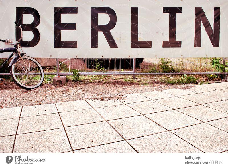 fahrradstadt Lifestyle Freizeit & Hobby Ferien & Urlaub & Reisen Tourismus Ausflug Sightseeing Städtereise Fahrrad Kunst entdecken Erholung trendy Berlin Plakat