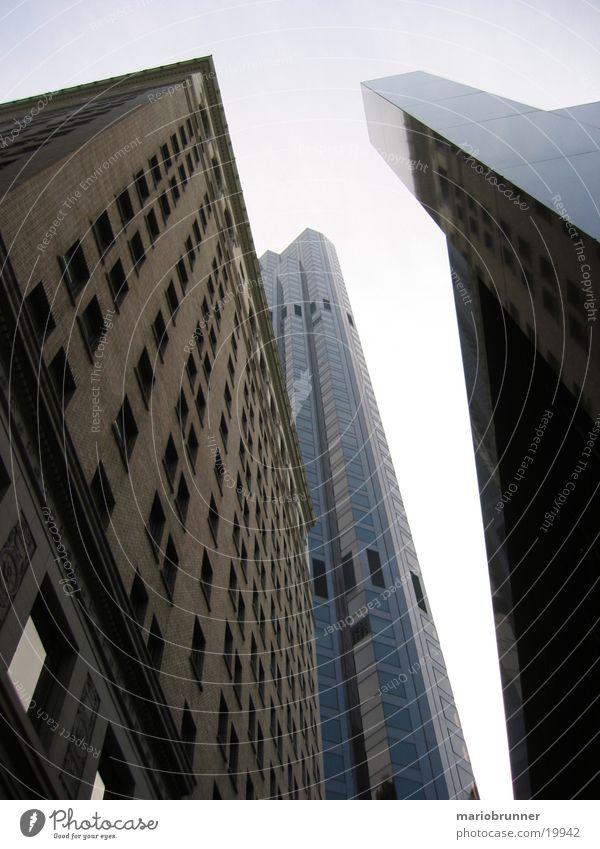 san_francisco_04 Stadt Fenster Architektur Glas Fassade Beton Hochhaus USA aufwärts vertikal Bürogebäude Glasfassade himmelwärts San Francisco Hochhausfassade
