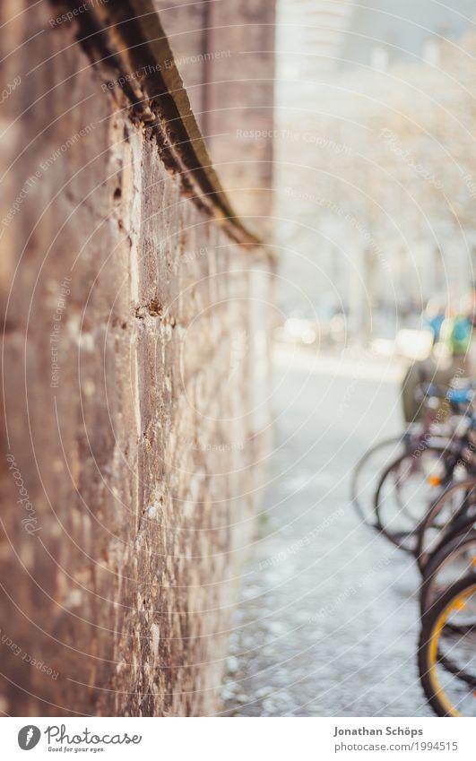 Anger Erfurt I alt Stadt Winter Architektur Religion & Glaube Gebäude Mauer Fahrrad Stadtzentrum Umweltschutz Christentum Protestantismus Kloster Fahrradständer