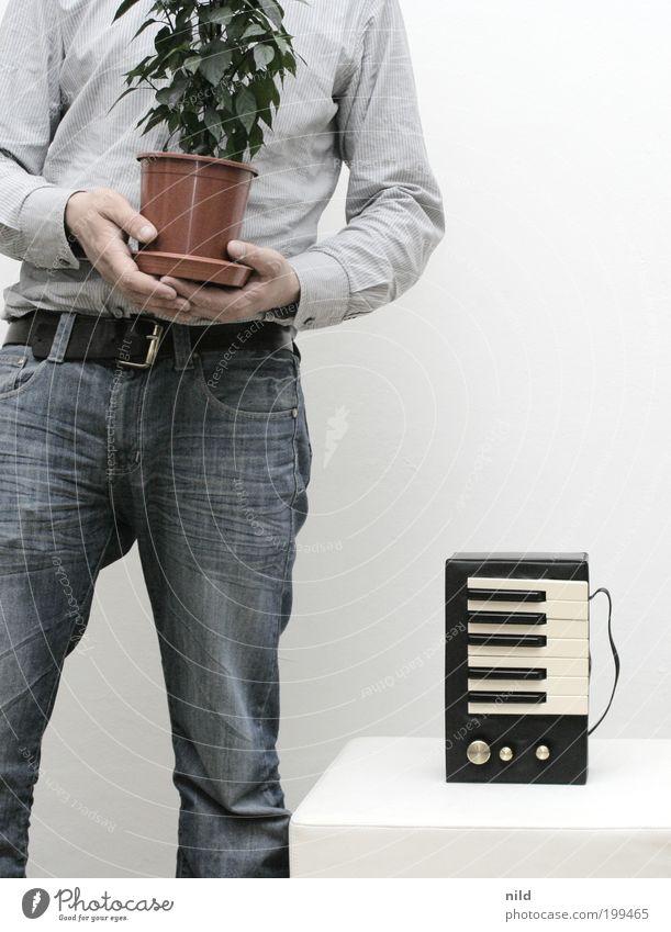 chromatisch Mensch Pflanze Erwachsene Stil Musik Kunst maskulin Design Geschenk Lifestyle Coolness Technik & Technologie Jeanshose 18-30 Jahre Hemd Tasche