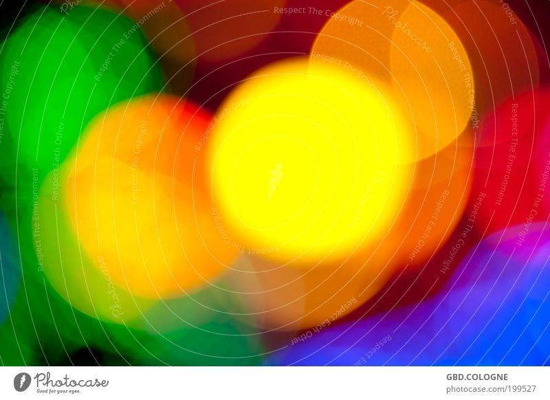 Ich treibe es gerne: BUNT! blau grün rot Freude gelb Gefühle Stimmung Lampe Feste & Feiern Fröhlichkeit leuchten abstrakt Jahrmarkt trashig Veranstaltung mehrfarbig