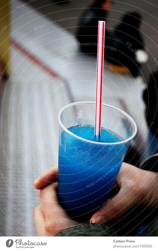 Liquid Lebensmittel Getränk Erfrischungsgetränk Limonade Becher Trinkhalm Ausflug Kunststoff festhalten warten Flüssigkeit kalt süß Durst exotisch Farbe