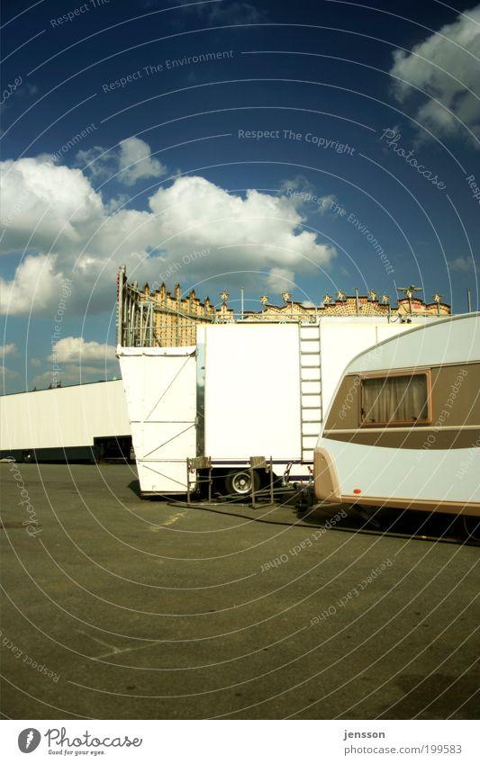 My Rolling Home Is My Castle Himmel Ferien & Urlaub & Reisen Wolken Ferne Freizeit & Hobby Jahrmarkt Leiter Schönes Wetter Wohnmobil Wohnwagen Anhänger