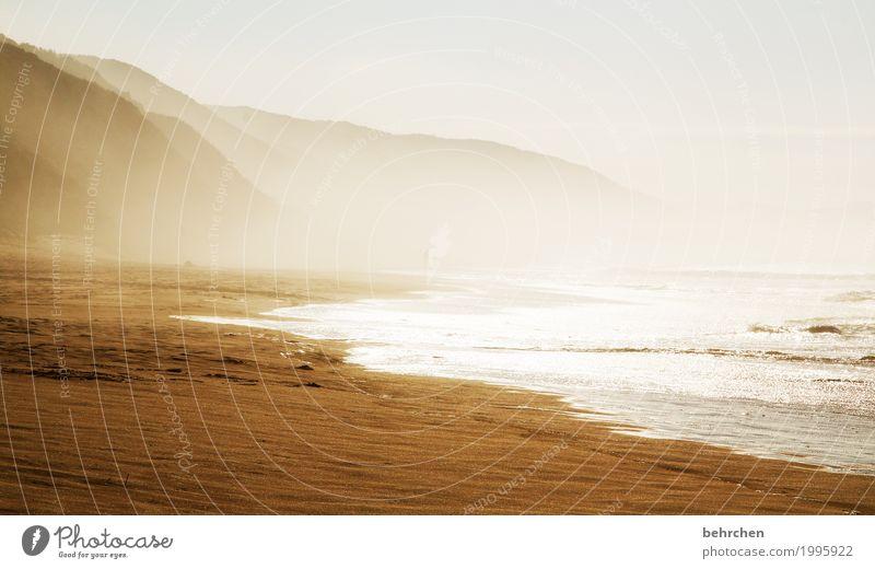hier will ich sein! schön Sonne Landschaft Strand Küste Wellen Schönes Wetter