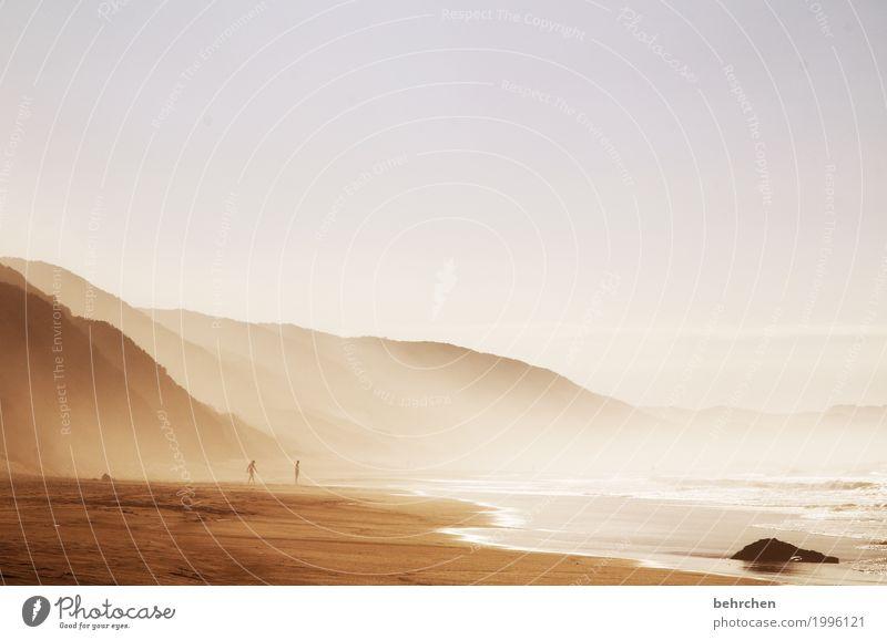 ein stück traum Ferien & Urlaub & Reisen Tourismus Ausflug Abenteuer Ferne Freiheit Landschaft Sand Wasser Himmel Schönes Wetter Nebel Hügel Berge u. Gebirge
