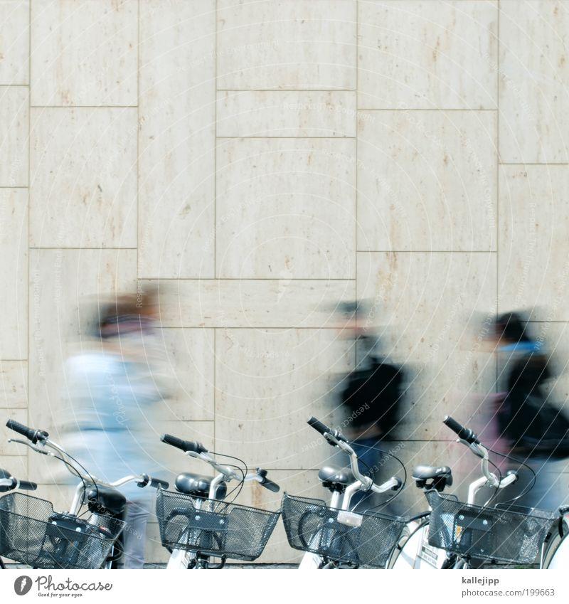 trimm dich Freizeit & Hobby Ferien & Urlaub & Reisen Ausflug Sightseeing Städtereise Fahrrad Student Mensch Leben 4 Menschengruppe Verkehr Verkehrsmittel