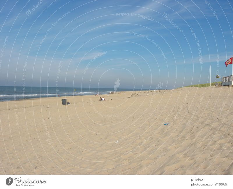 no beachboys Meer See Strand Wasser Himmel blau