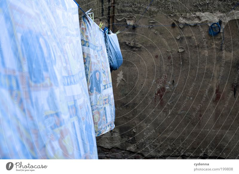 [HAL] Luftgetrocknet Leben Wand Bewegung Mauer Stil Luft Arbeit & Erwerbstätigkeit Lifestyle Reinigen Sauberkeit Bettwäsche Wäsche Leichtigkeit Nostalgie Hinterhof trocknen