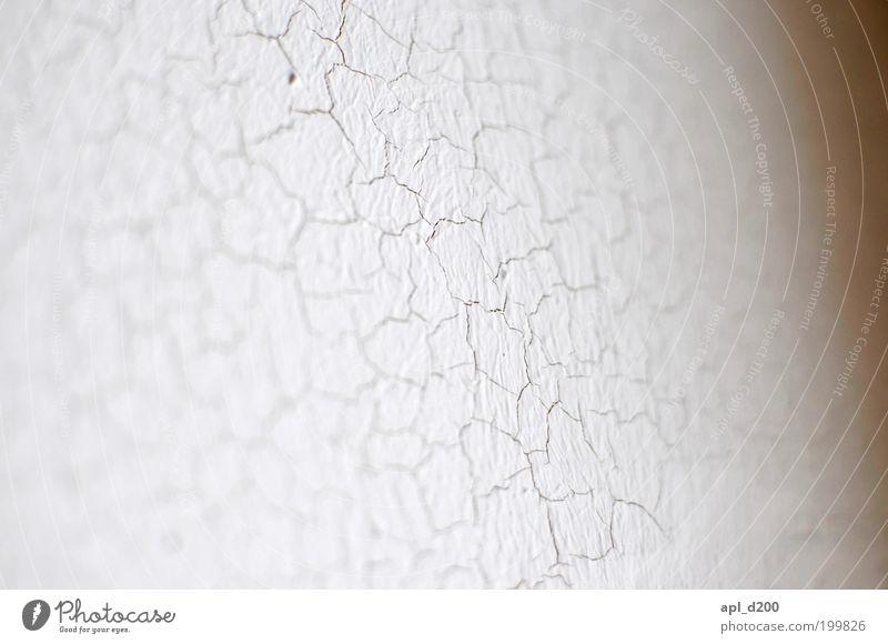 Alt alt weiß Wand grau Farbstoff Mauer authentisch Verfall trocken Riss Putz sparsam
