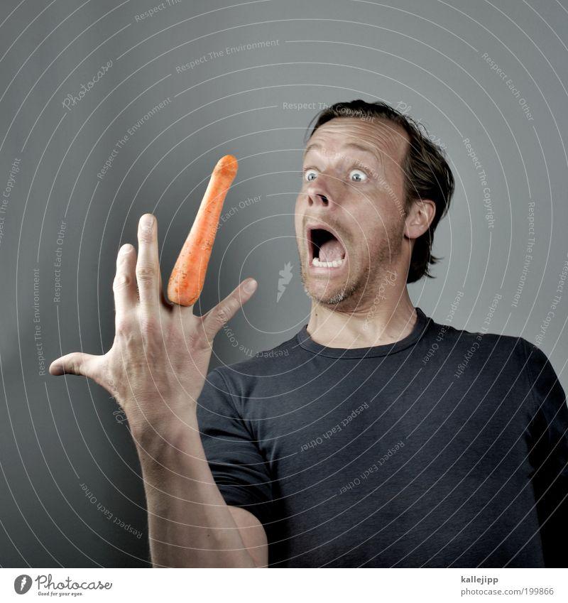 der morgen danach Mensch Mann Hand Gesicht Erwachsene Auge Haare & Frisuren Angst maskulin außergewöhnlich Finger gefährlich Wachstum bedrohlich Lebensmittel
