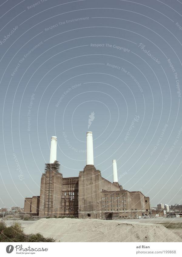 ANIMALS Himmel alt Architektur Fassade Energiewirtschaft Industrie Bauwerk Fabrik historisch Wahrzeichen Ruine London Schornstein Sehenswürdigkeit