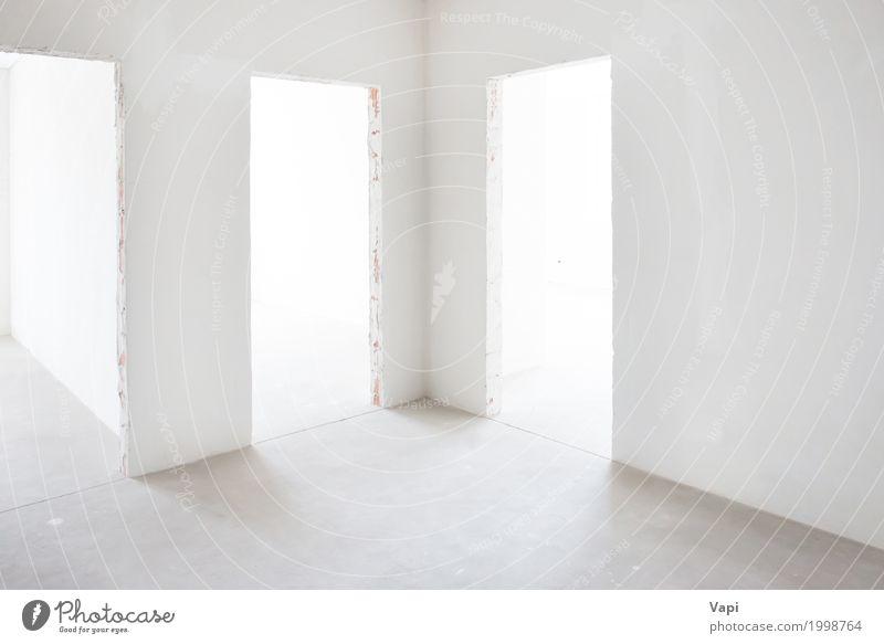 weiß Haus Architektur Wand Innenarchitektur Gebäude Mauer Business Lampe grau Design Wohnung Raum elegant modern Tür