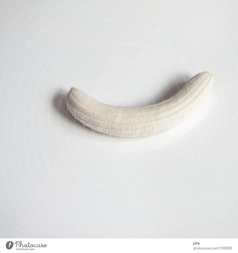 Akt weiß Ernährung Gesundheit Lebensmittel Frucht ästhetisch Vitamin Bioprodukte Banane Freisteller Vegetarische Ernährung Fingerfood High Key Kohlenhydrate