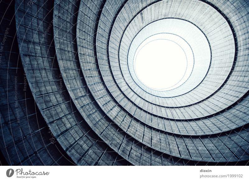 inside the cooling tower [8] Energiewirtschaft Kernkraftwerk Kohlekraftwerk Industrie Menschenleer Industrieanlage Fabrik Turm Bauwerk Gebäude Architektur