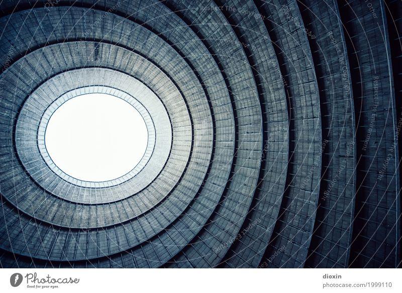 Inside the cooling tower [16] Energiewirtschaft Kernkraftwerk Kohlekraftwerk Industrieanlage Turm Kühlturm Mauer Wand alt authentisch gigantisch hoch kalt Stadt