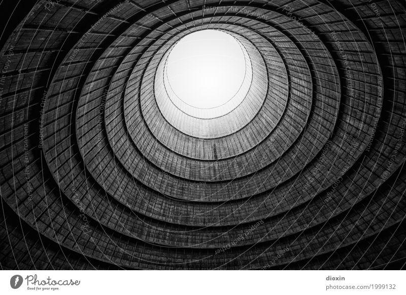 inside the cooling tower [7] alt Stadt Architektur Wand Gebäude Mauer außergewöhnlich Energiewirtschaft authentisch hoch Industrie Turm rund Bauwerk Fabrik