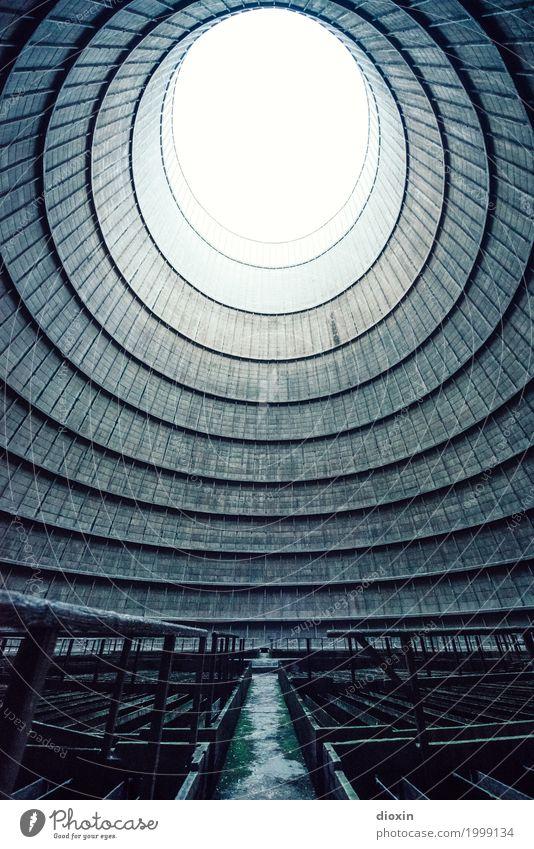 inside the cooling tower [6] alt Stadt Architektur Wand Gebäude Mauer außergewöhnlich Energiewirtschaft authentisch hoch Industrie Turm rund Bauwerk Fabrik