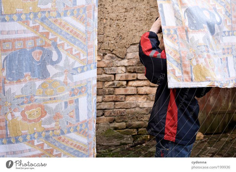 [HAL] Expedition in Afrika Mensch Kind Leben Wand Junge Freiheit Mauer träumen Freizeit & Hobby Kindheit Armut Tourismus Lifestyle Neugier Afrika geheimnisvoll