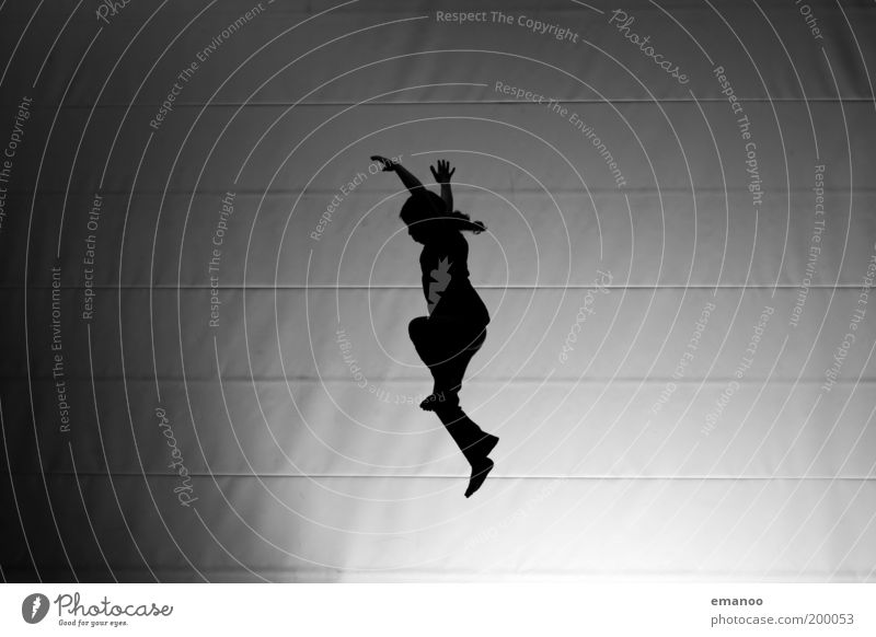 nightflyer Mensch Kind Jugendliche weiß Mädchen Freude schwarz Leben Sport Freiheit Bewegung springen Körper Kindheit Kraft Tanzen