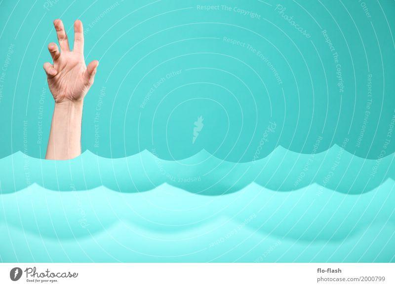 TIDENHUB VI Mensch blau Hand Meer Umwelt Stil Business Schwimmen & Baden Design Wellen Erfolg Klima Studium Hilfsbereitschaft Ostsee Krankheit