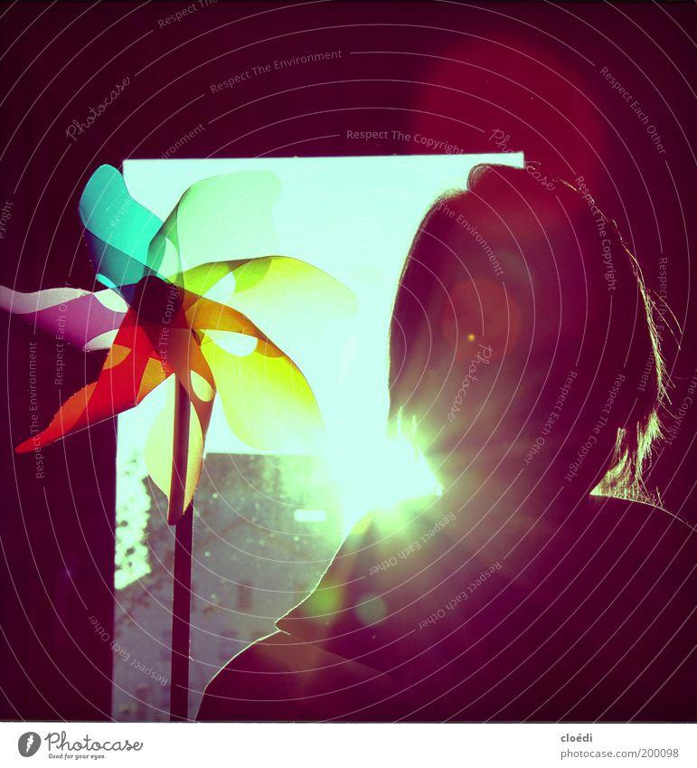 sommerfarben Schönes Wetter Spielzeug leuchten frei Freundlichkeit Fröhlichkeit Glück gut hell retro Wärme blau mehrfarbig gelb grün violett rosa rot schwarz