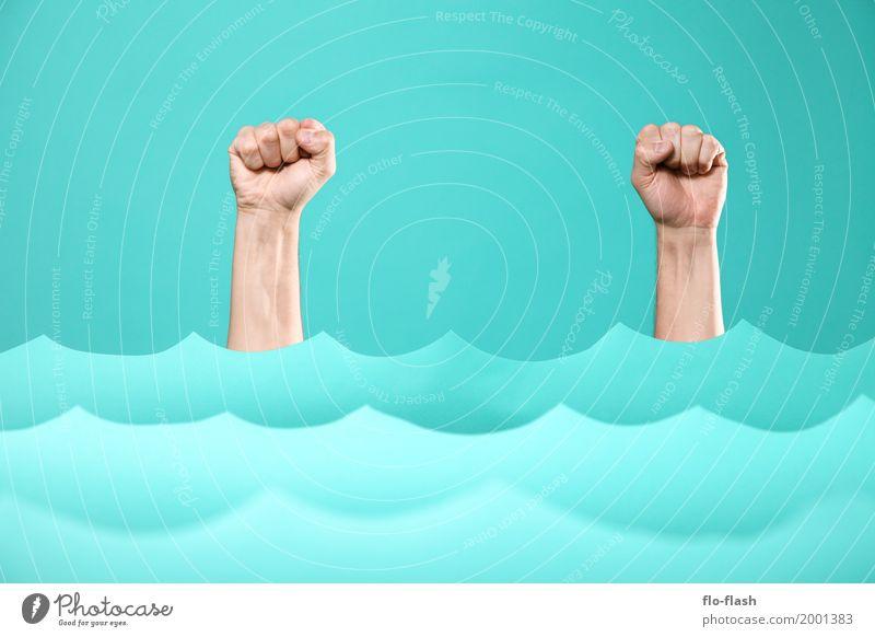 TIDENHIEB Reichtum Design Fitness Schwimmen & Baden tauchen Studium Medienbranche Werbebranche Business Unternehmen Erfolg Mensch Arme Hand Kunst Kunstwerk