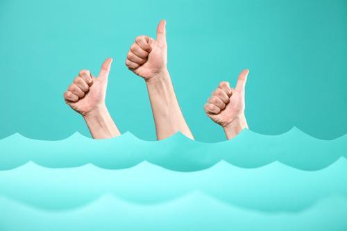 TIDENHUB VII Mensch Ferien & Urlaub & Reisen blau Meer Freude Stil Business Schwimmen & Baden Design Wetter Wellen Erfolg Abenteuer Studium Team Bildung