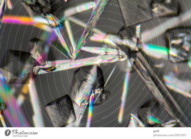 soda lye microcrystals Wachstum dünn Wissenschaften leicht Kristallstrukturen Entwicklung künstlich Lichtbrechung forschen untersuchen Mikrofotografie