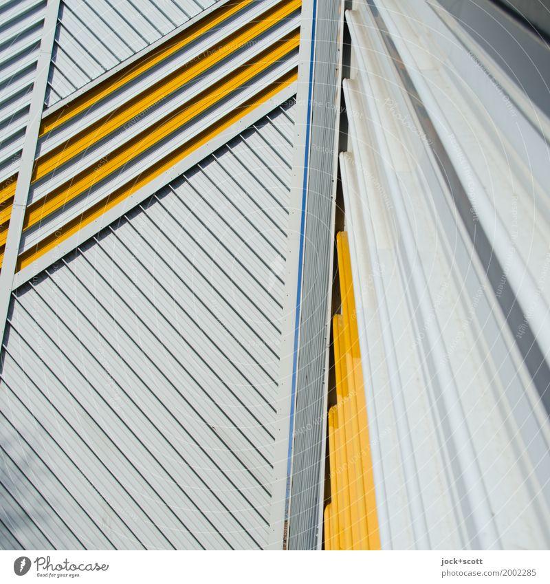 Lieber Linie × 1 Berlin Fassade Dekoration & Verzierung Streifen Netzwerk eckig Brandmauer