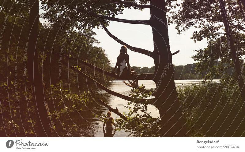 Oh wie schön ist Brandenburg! Mensch Natur Ferien & Urlaub & Reisen Sommer Wasser Sonne Baum Landschaft Erholung Einsamkeit ruhig Ferne Leben Freiheit Tourismus