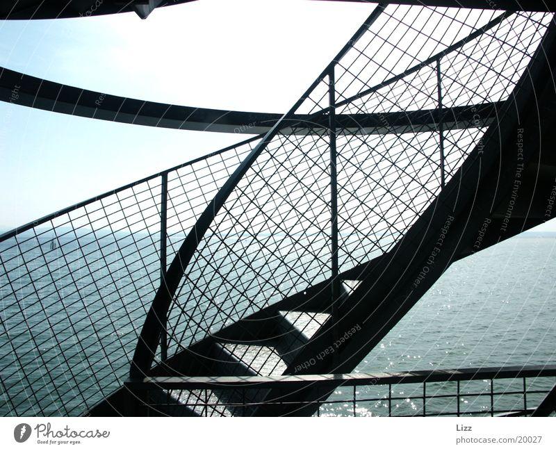 Friedrichshafenturm Architektur Treppe Turm Stahlturm Friedrichshafenturm