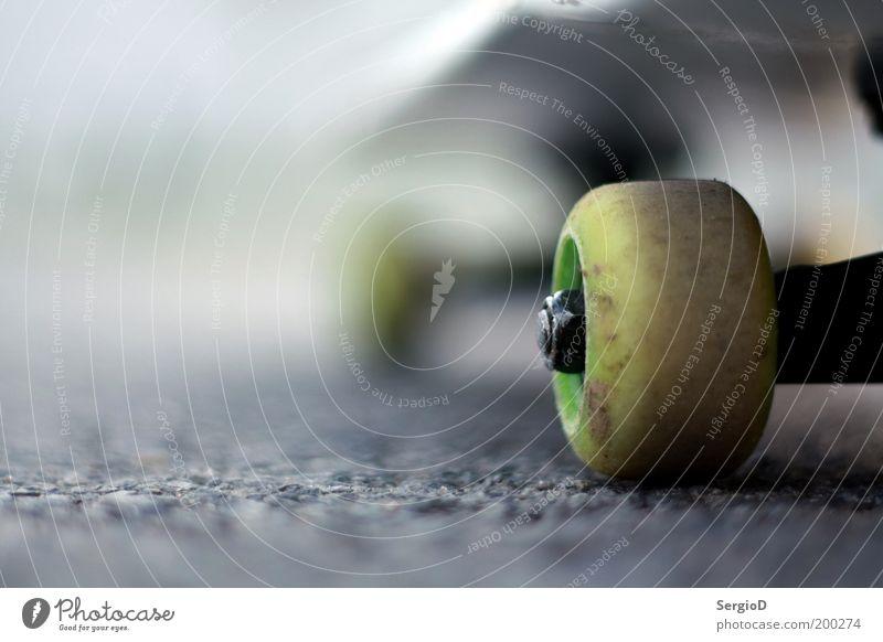It´s just a tribute Sport Skateboarding Straße Coolness rebellisch grau grün Vorfreude Freizeit & Hobby Freude einzigartig rebellieren Farbfoto Außenaufnahme