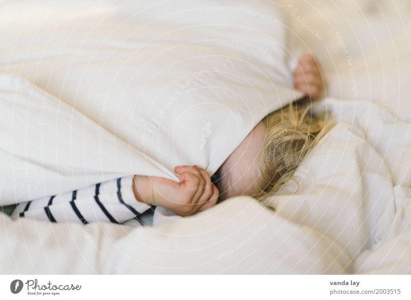 Kuckuck Mensch Kind Erholung Freude Mädchen Leben Junge lachen Spielen Wohnung Häusliches Leben Raum Kindheit schlafen Wohlgefühl verstecken
