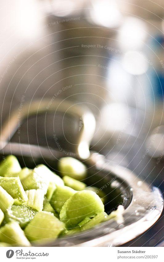 Rhabarberbarbara Gemüse Frucht Marmelade Ernährung Bioprodukte Vegetarische Ernährung kochen & garen grün Topf Dessert Küche mehrfarbig Innenaufnahme