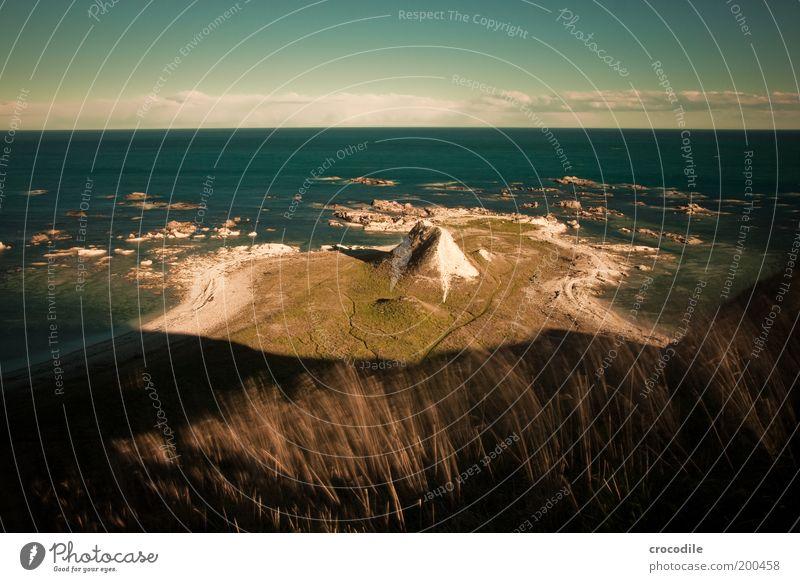New Zealand 42 Umwelt Natur Landschaft Sand Klima Schönes Wetter Hügel Felsen Wellen Küste Strand Meer schön Freiheit Hoffnung Horizont Außenaufnahme