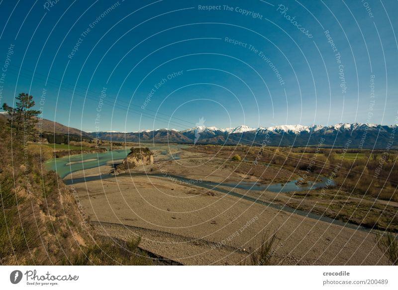 New Zealand 57 Natur Himmel Ferne Berge u. Gebirge Landschaft Zufriedenheit Umwelt Felsen ästhetisch Fluss Alpen fantastisch außergewöhnlich Hügel Gipfel Schönes Wetter