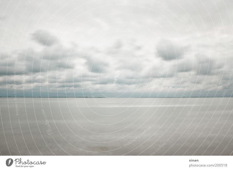 Horizont Himmel Natur blau Wasser Strand Wolken Ferne Umwelt Landschaft Herbst kalt grau Küste Wetter natürlich Klima