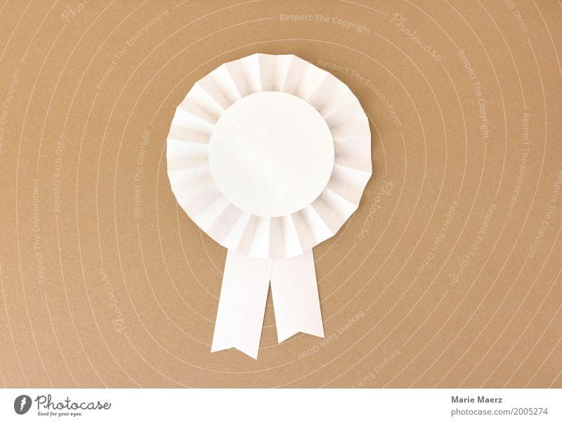 Ausgezeichnet weiß Feste & Feiern braun Kraft ästhetisch Erfolg Papier historisch Symbole & Metaphern rein positiv Konkurrenz Schleife Qualität Preisverleihung
