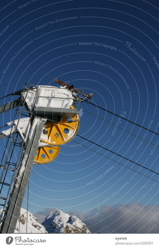 Wann ist endlich wieder Winter ? Maschine Technik & Technologie Umwelt Natur Landschaft Urelemente Luft Himmel Wolken Horizont Klima Wetter Schönes Wetter Eis