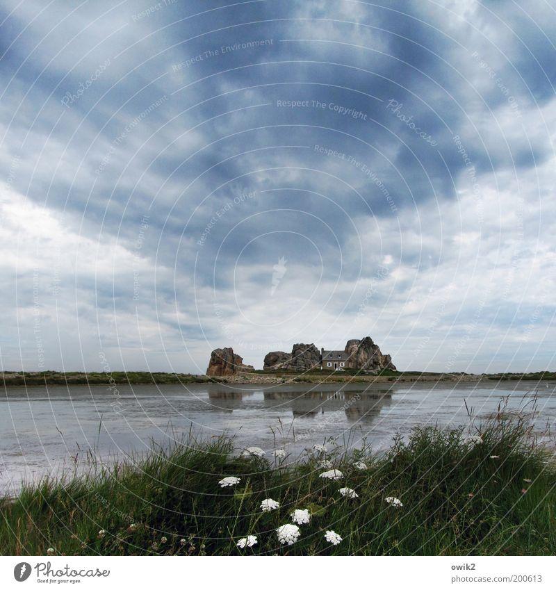 Traumhaus Natur Himmel Blume Pflanze Ferien & Urlaub & Reisen Wolken Ferne Gras Freiheit See Gebäude Landschaft Küste Architektur Umwelt