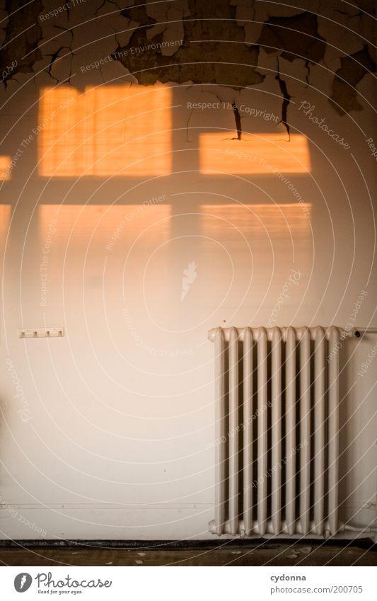 [HAL] Wärme alt ruhig Leben Wand Mauer Raum Energie leer Lifestyle Energiewirtschaft Klima Häusliches Leben Vergänglichkeit Innenarchitektur Verfall